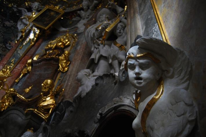 Interior de la Asamkirche de Múnich