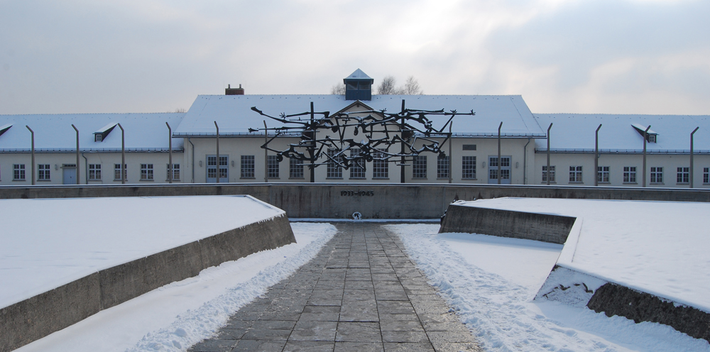 Memorial del antiguo campo de concentración de Dachau