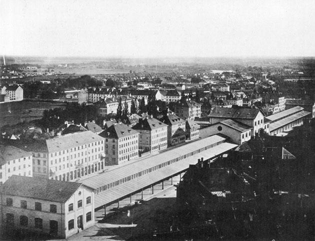 Edificio original, en 1858. /WIKIPEDIA CC