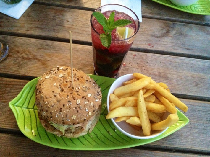 Menú de tarde