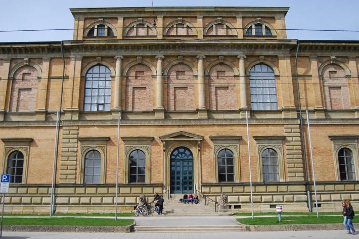 Exterior de la Alte Pinakothek