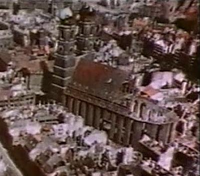 Captura de pantalla aérea (1945). /WIKIPEDIA CC