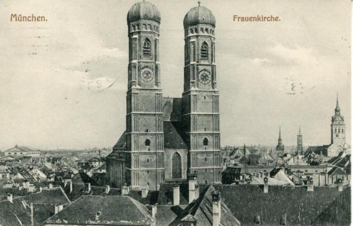 Postal de 1909 con vista panorámica. /WEB
