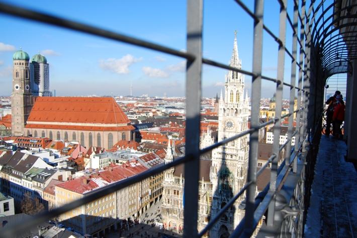 Vista de la catedral desde lo alto de San Pedro