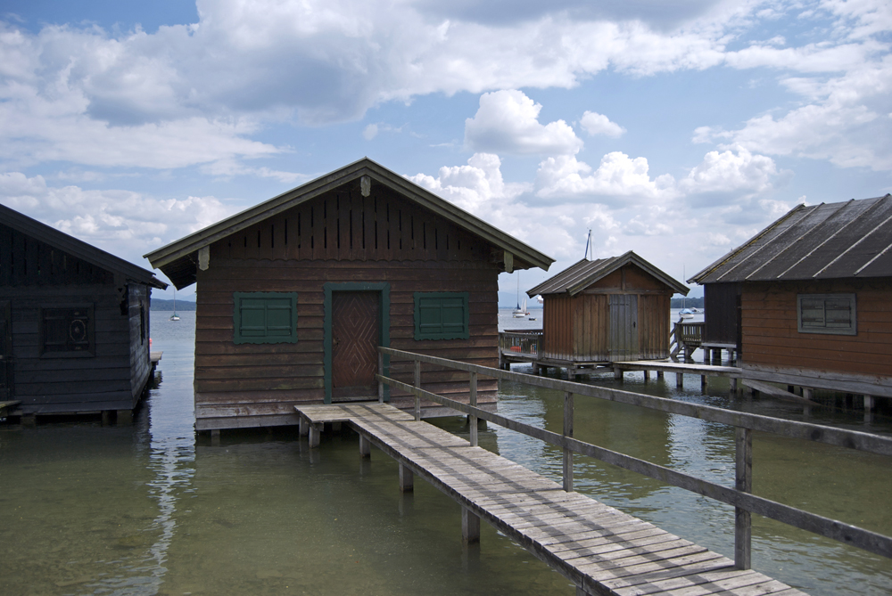 Embarcaderos particulares en Starnberger