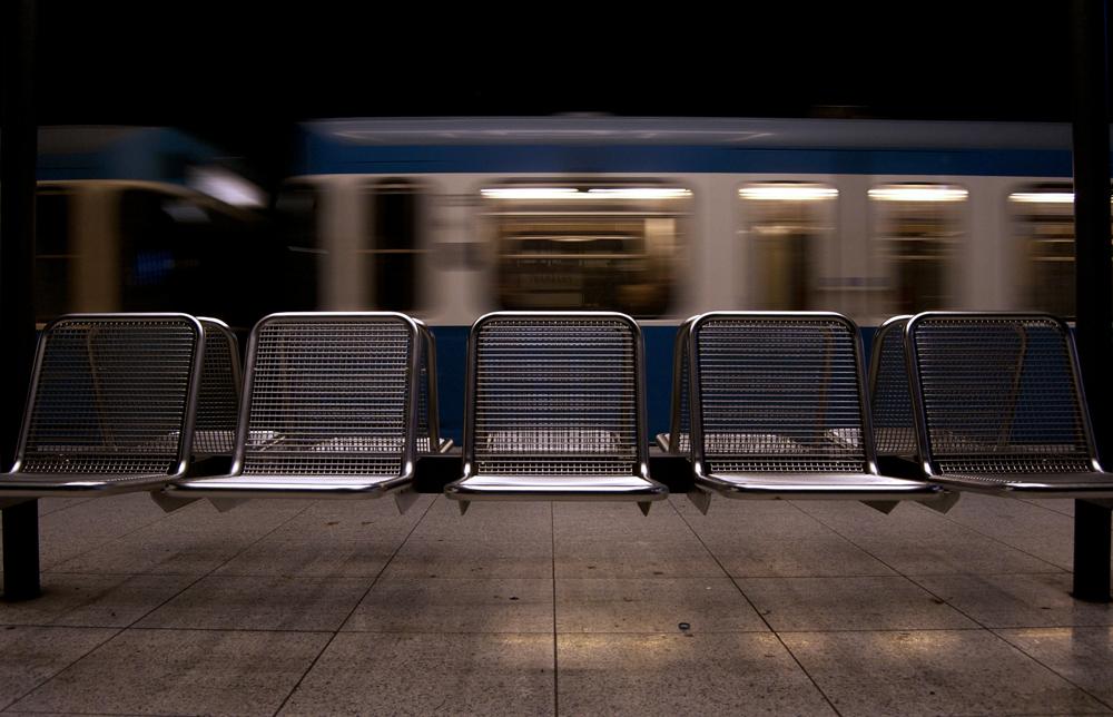 Estación U-Bahn en Gern