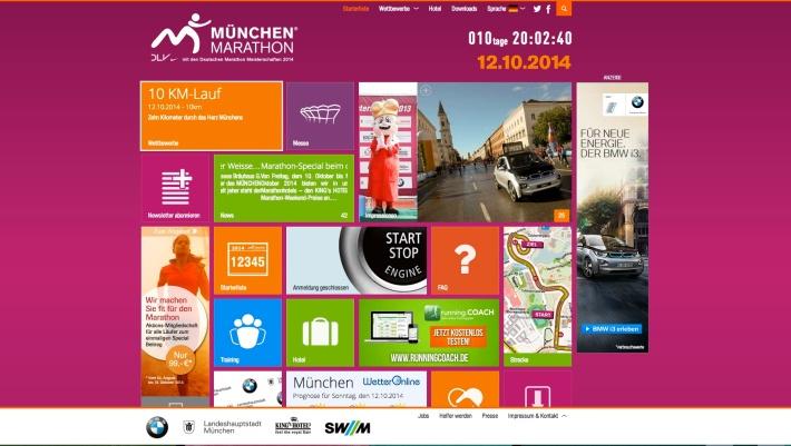 Web del maratón. /WEB