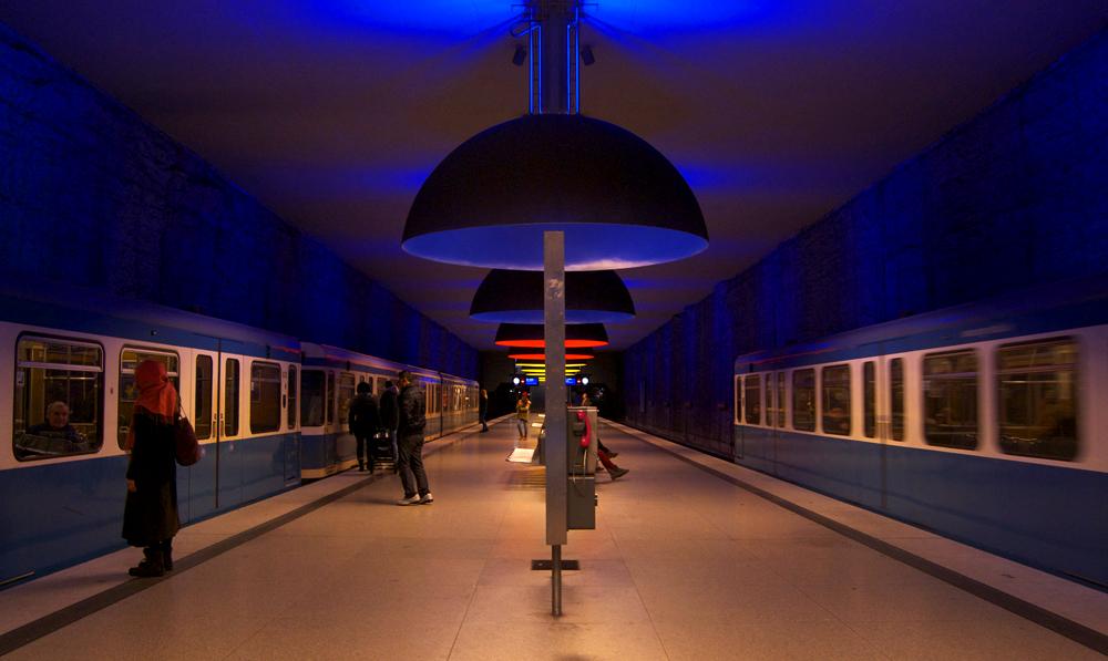 Estación U-Bahn Westfriedhof