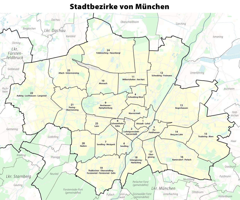 Distritos de Múnich