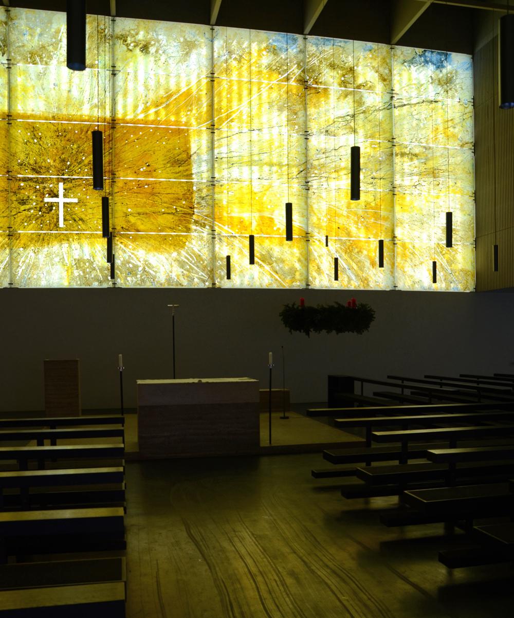 Interior de la católica St. Florian