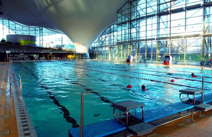 Olympia-Schwimmhalle. /SWM KERSTIN GROH