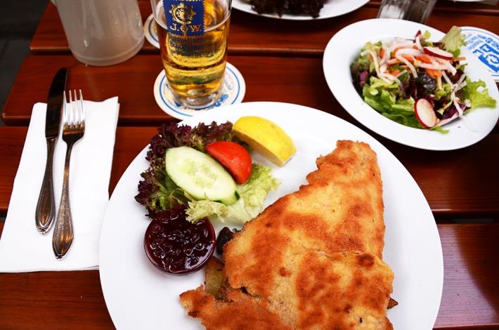 Schnitzel en Faun