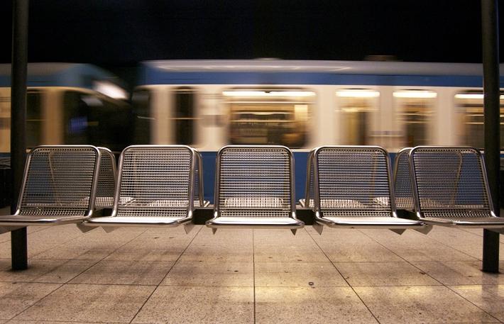 Estación de metro en Múnich