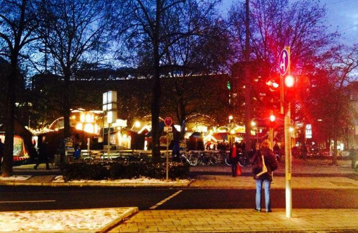 Mercado navideño en Rotkreuzplatz