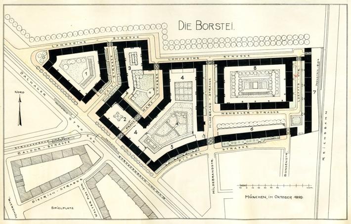 Plano de Borstei. /MUSEO BORSTEI