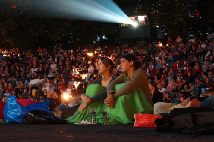 Cine al aire libre en Múnich. /SZ WEB