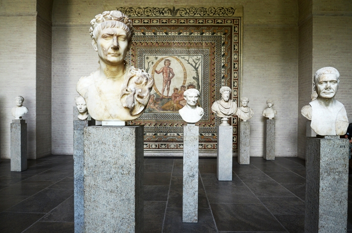 Bustos romanos