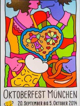 Cartel de Oktoberfest 2014, obra de Christa Bichlmeier. /WEB
