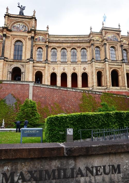 Detalle del Maximilianeum, parlamento bávaro