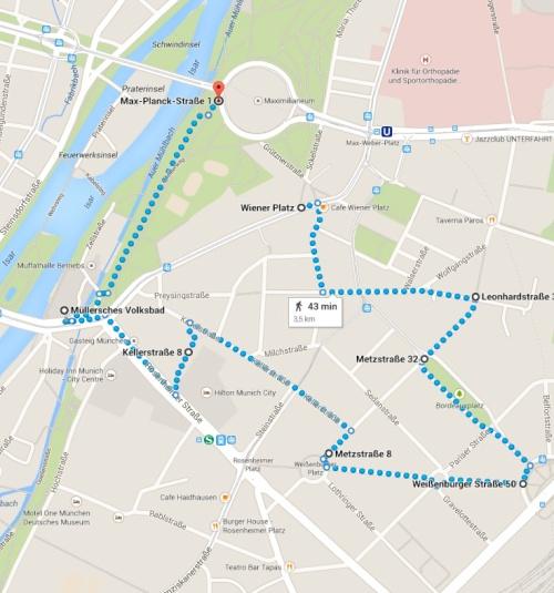 Posible paseo por Haidhausen