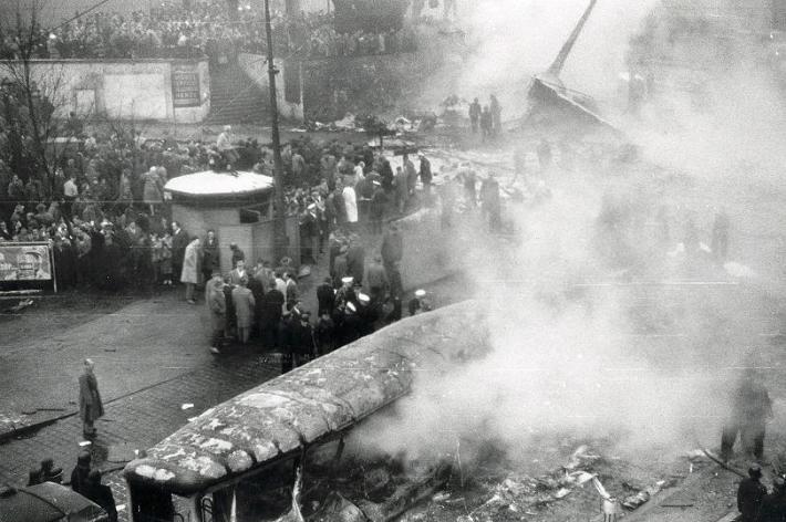 Imagen del accidente. /WEB: REVISTA FOCUS