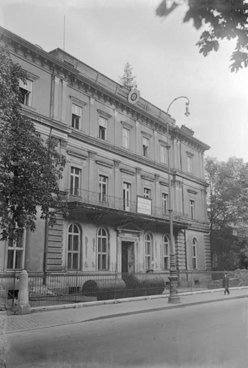 La 'Braunes Haus' en 1935. / BUNDESARCHIV
