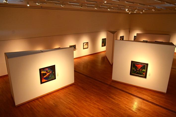 Sala dedicada a los expresionistas