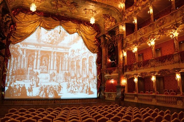 El teatro actual, interior