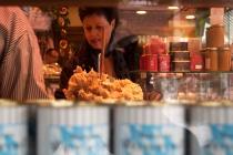 Tienda de alimentación en el mercado central de Múnich