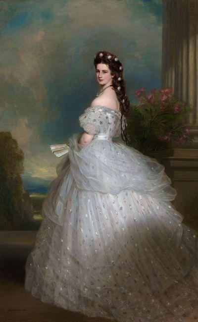 Sissi pintada por Franz Xaver Winterhalter. /WEB