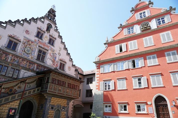 Altes Rathaus (izquierda) de Lindau